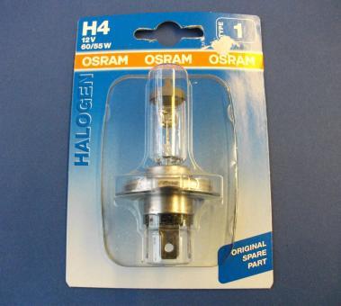 Autolampe - H4 12 V 60/55 Watt